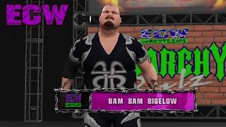 WWE 2K - ECW Custom Music & Attires (Extreme Championship Wrestling)