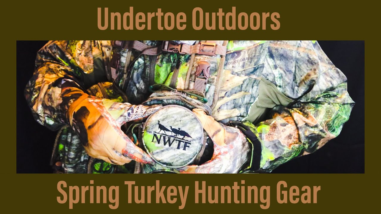 fff118c7adf94 Spring Turkey Hunting Gear (Alps Longspur turkey vest). UNDERTOE OUTDOORS