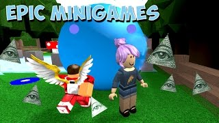 ROBLOX Epic MiniGames Iluminati Livestream - YumiPlays