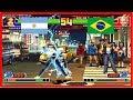 Kof 98 - perrymason (argentina) vs NEGO PAIN (brazil) Fightcade
