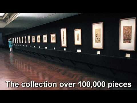 Japan Travel: Japan Ukiyoe Museum largest collection, Nagano, Japan