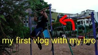 My first vlog || my lifestyle || #fitnesslife💪💪💪