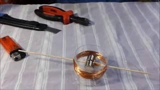 Basit Jeneratör Yapımı... ( Basit Elektrik Üretim Makinesi )