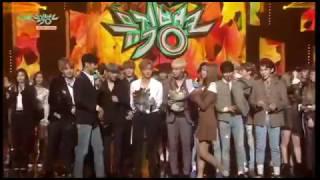 BTS 3rd win, Taemin SHINEE hugs Jimin, heaven!