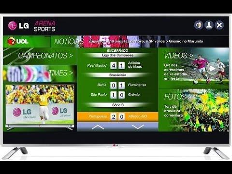 45f4d6390 Avaliação da Smart TV LED LG 42