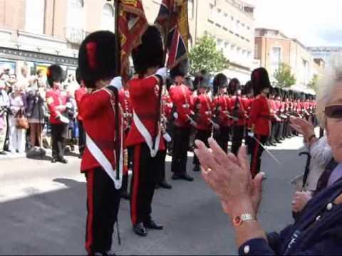 Coldstream Guard Parade Exeter 2011