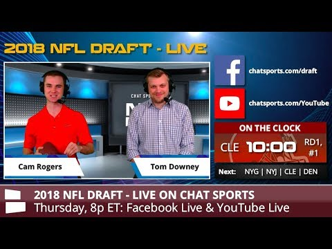 2018 NFL Draft: Watch The First Round Live From Dallas