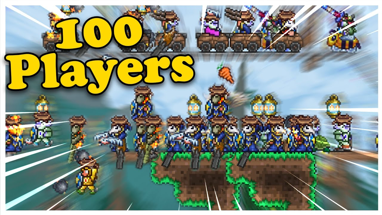 100 players try beating Terraria Journey mode
