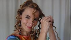 Par Cret Cu Hartie Igienica Curly Hair With Toilet Paper