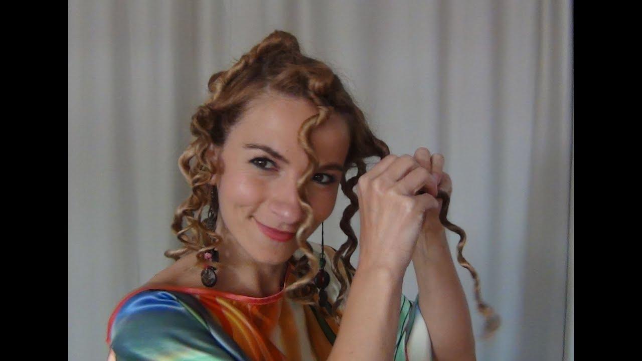 Cum Să Iţi Faci Părul Creţ Fără Placă Sau Ondulator Bantu Knots Sau