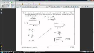 Algebra 2 & Trigonometry 2011 January Regents Answers