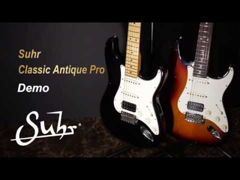 [MusicForce] Suhr Classic Antique Pro SSH - Demo