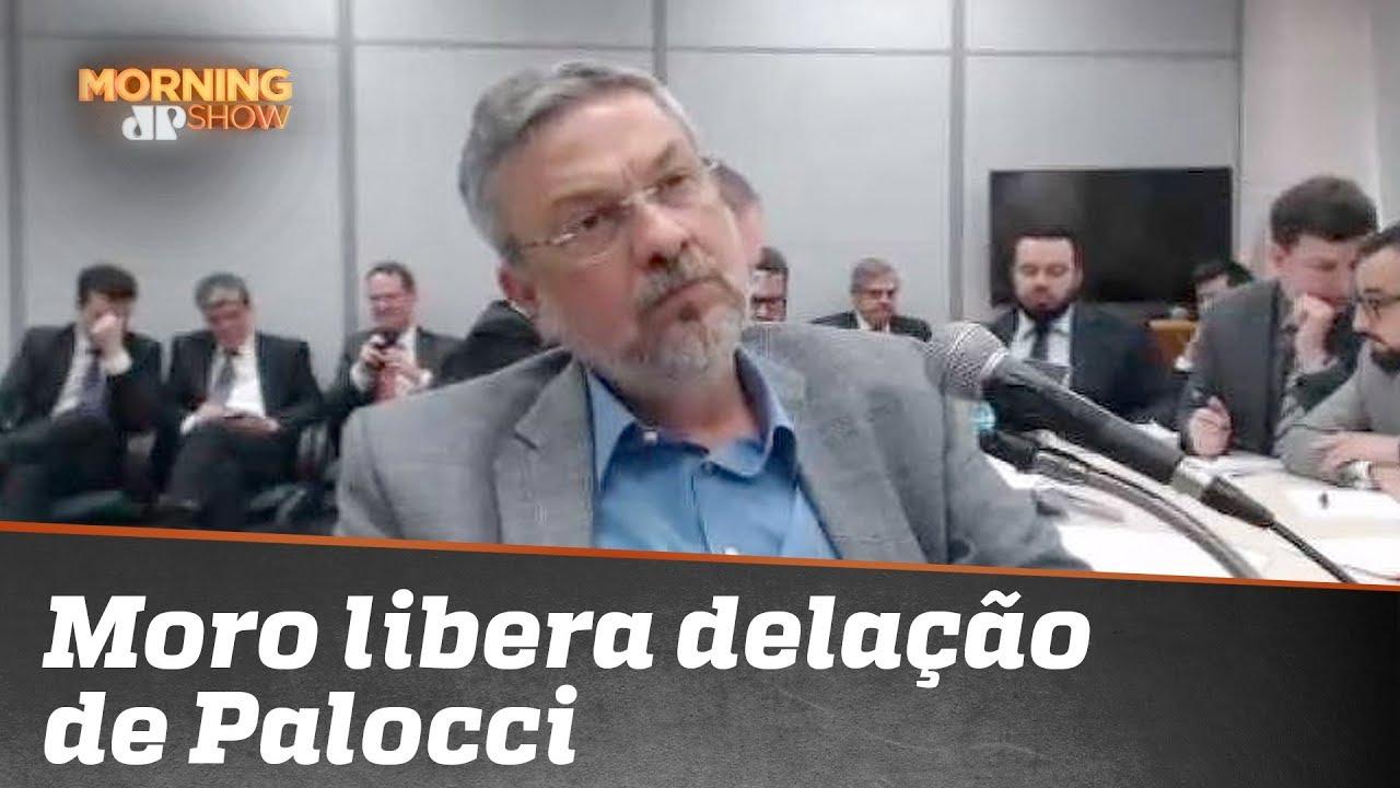 Moro libera delação em que Palocci relata propina ao PT e envolvimento de Lula