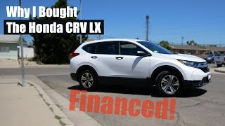 2019 Honda CRV-LX, 2.4l, Out the door price! Financing and paperwork