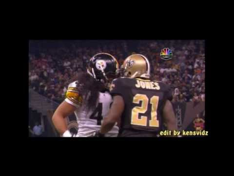 Troy Polamalu and Julius Jones, HD