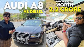 Pondicherry Drive in Audi A8, V8 Diesel and Range Rover Vogue V8 - Supercars in Chennai Irfan's view