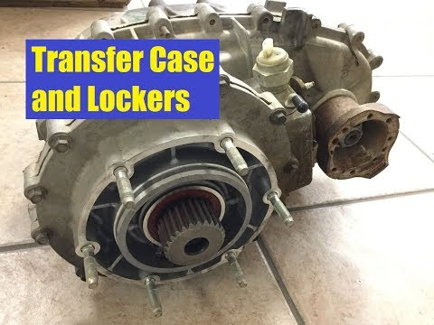 Jeep Wrangler LS JK Transfer Case and Locker options