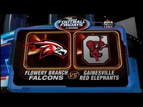 Flowery Branch VS Gainsville 11/08/13 (GPB Sports HS Football)