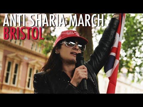 Lucy Brown: Bristol AntiSharia March Highlights