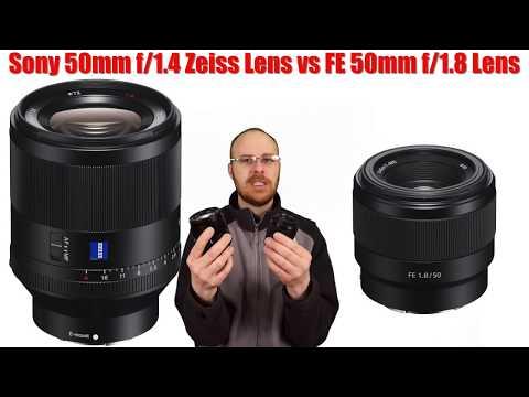 Sony FE 50mm f/1.8 Lens vs FE 50mm f/1.4 Zeiss Lens Review - $250 vs $1500??