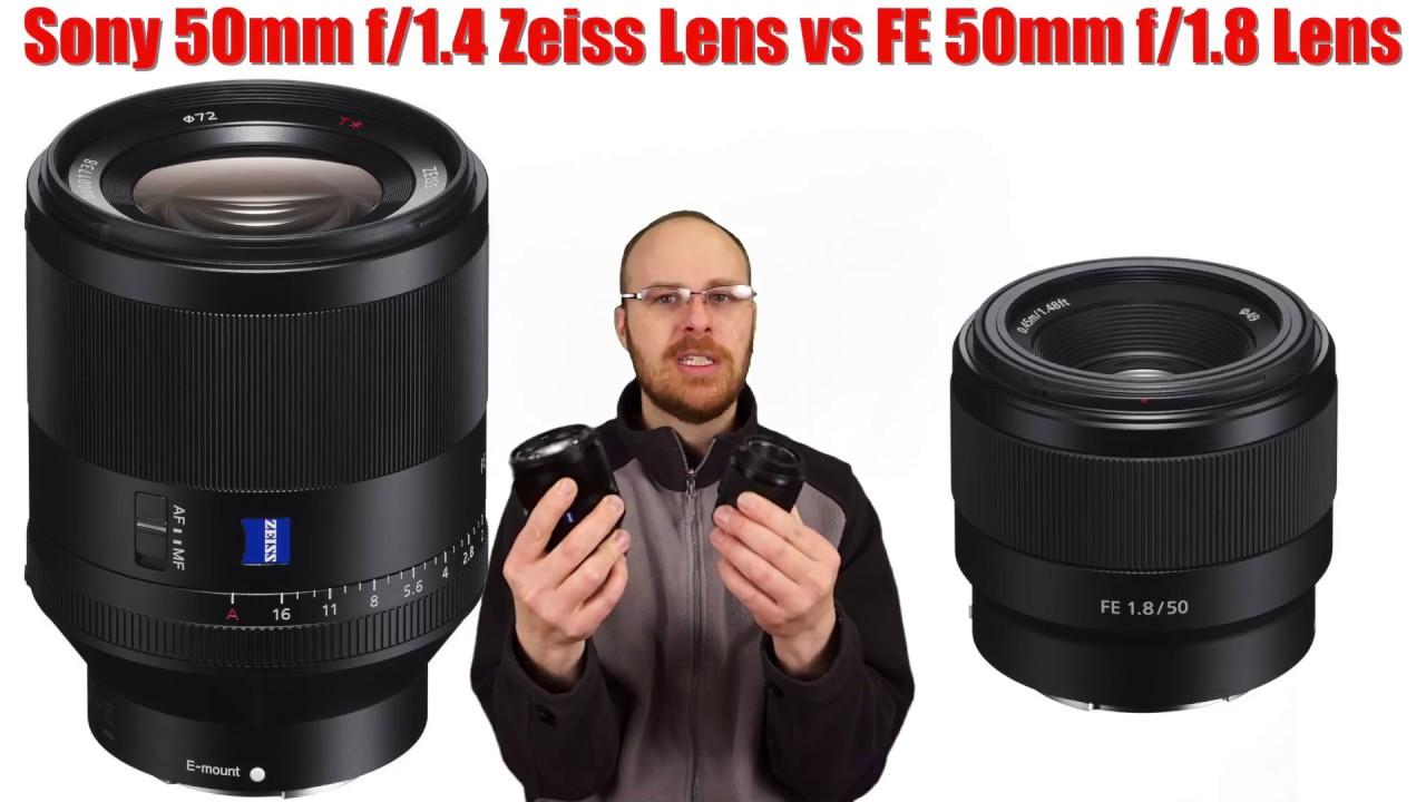 906eb9f58324e Sony FE 50mm f 1.8 Lens vs FE 50mm f 1.4 Zeiss Lens Review -  250 vs  1500