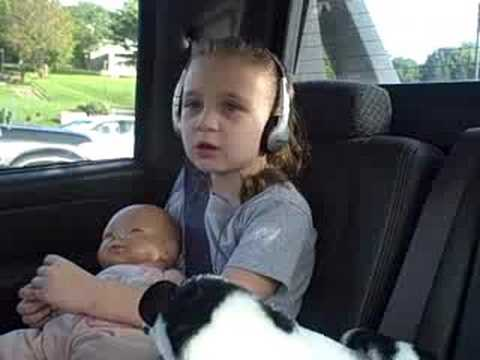 Sarai singing Tim McGraw My Little Girl
