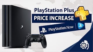 Playstation Plus Price Increase | Ps+ And Playstation Now To Unite?  Europe, Australia, New Zealand