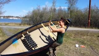Sassy pants solo canoe carry