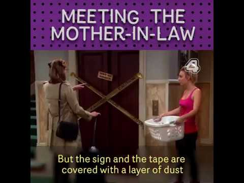 The Big Bang Theory - Meeting mother in law