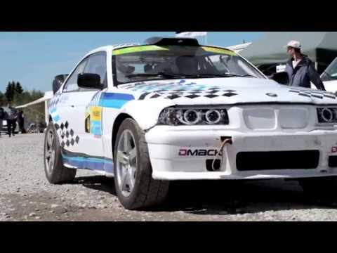 Rallycross event in Estonia