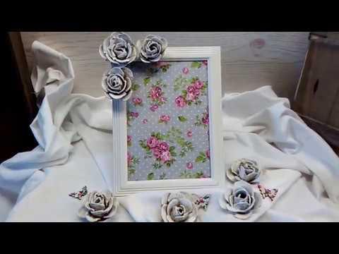 rose aus eierkarton basteln variante 2 youtube. Black Bedroom Furniture Sets. Home Design Ideas
