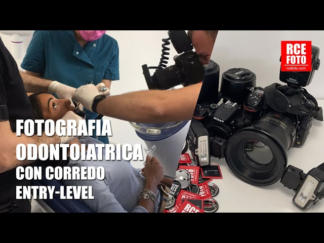 FOTOGRAFIA ODONTOIATRICA - Corredo entry-level