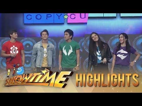 "It's Showtime Copy-Cut: ""Bagani"" stars take on the ""Taga Saan Ka"" challenge"