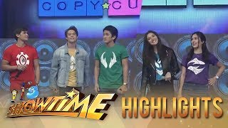 "It's Showtime Copy-Cut: ""Bagani"" stars take on the ""Taga Saan Ka"" challenge"