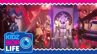 KIDZ BOP Life UK: Vlog #1 - The KIDZ BOP Kids perform live on Blue Peter