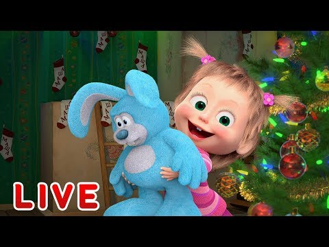 Masha and the Bear 🎬❄️ LIVE STREAM ❄️🎬 THROUGH THE TIME ⌛ Cartoon live best episodes