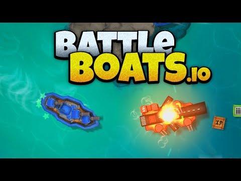 Battleboats.io - Ocean Domination! - New IO Game! - Battleboats.io Gameplay