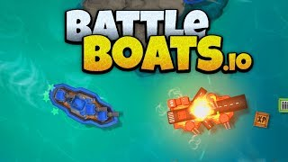 Battleboats.io - Ocean Domination! - New IO Game! - Battleboats.io Gameplay