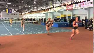 Біг на 60 м з/б (0.840) Жінки  (Забіг 1) «Різдвяні старти»