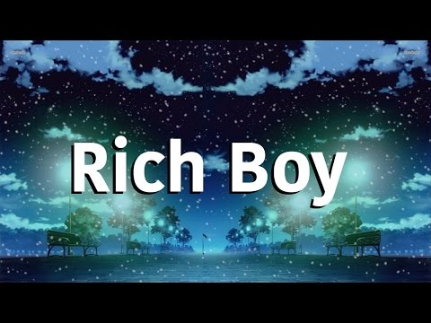 Rich Boy - Galantis |Lyrics|