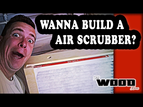 Woodworking Basics.  How to build a DIY shop air filter