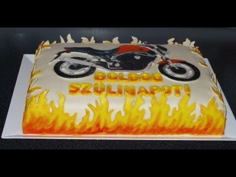 motoros születésnapi köszöntő Boldog születésnapot Anu! ;)   YouTube motoros születésnapi köszöntő