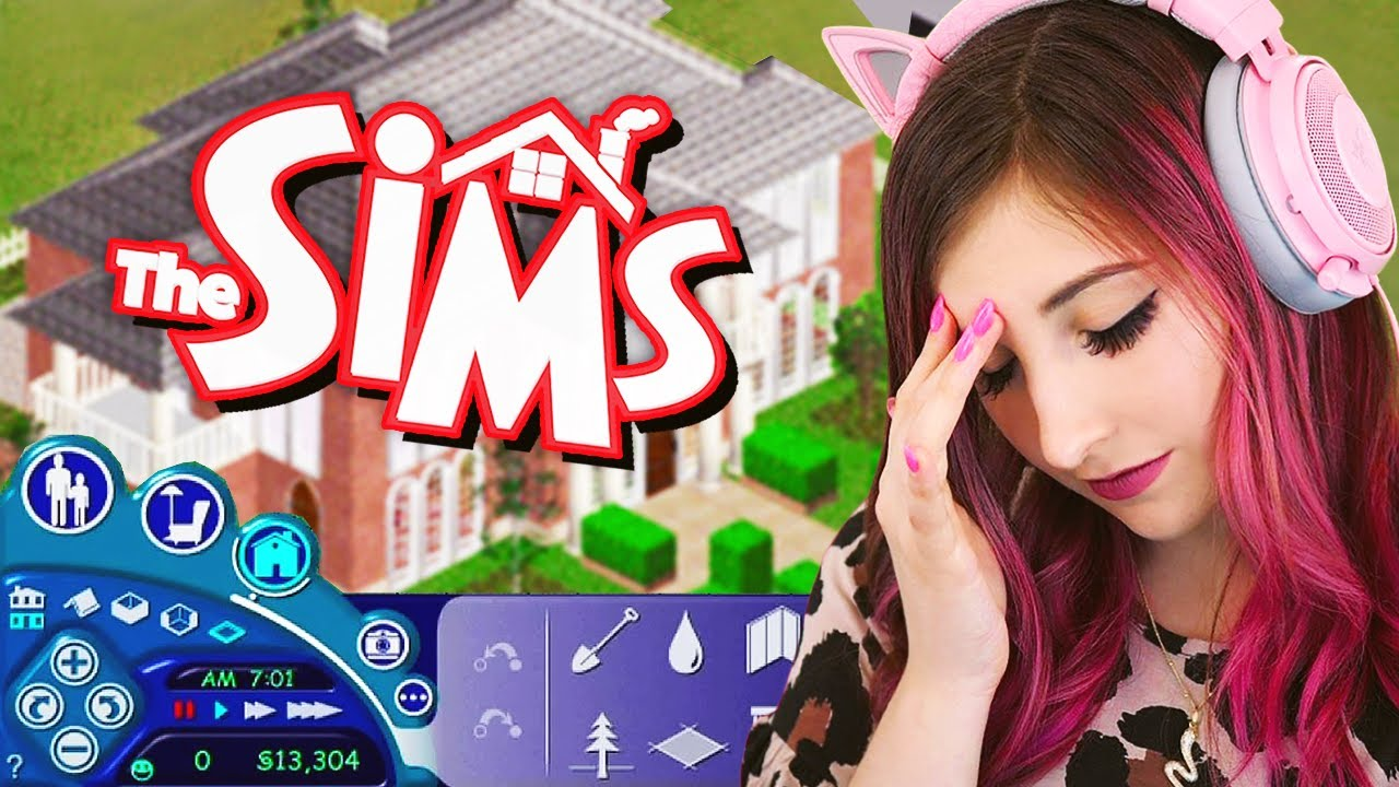 I Tried Building a House in The Sims 1...it's impossible thumbnail