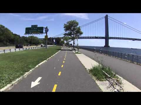 Biking NYC: Shore Parkway Bike Path in Brooklyn