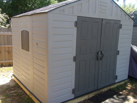 US LEISURE 8 X 10 STRONGHOLD SHED