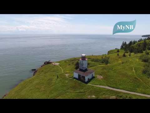 Quaco Lighthouse, West Quaco, New Brunswick