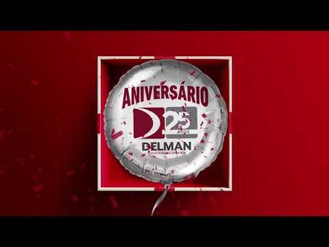 Aniversário de 25 anos da Delman no Salão do imóvel Ademi/AL 2019