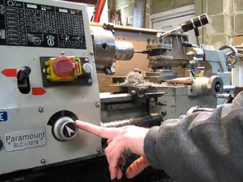 Why I like lathes with a quick change gearbox