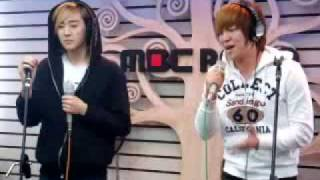 "091210 U-KISS Soohyun & Kevin - ""이 노래"" (This Song) @ Starry Night"