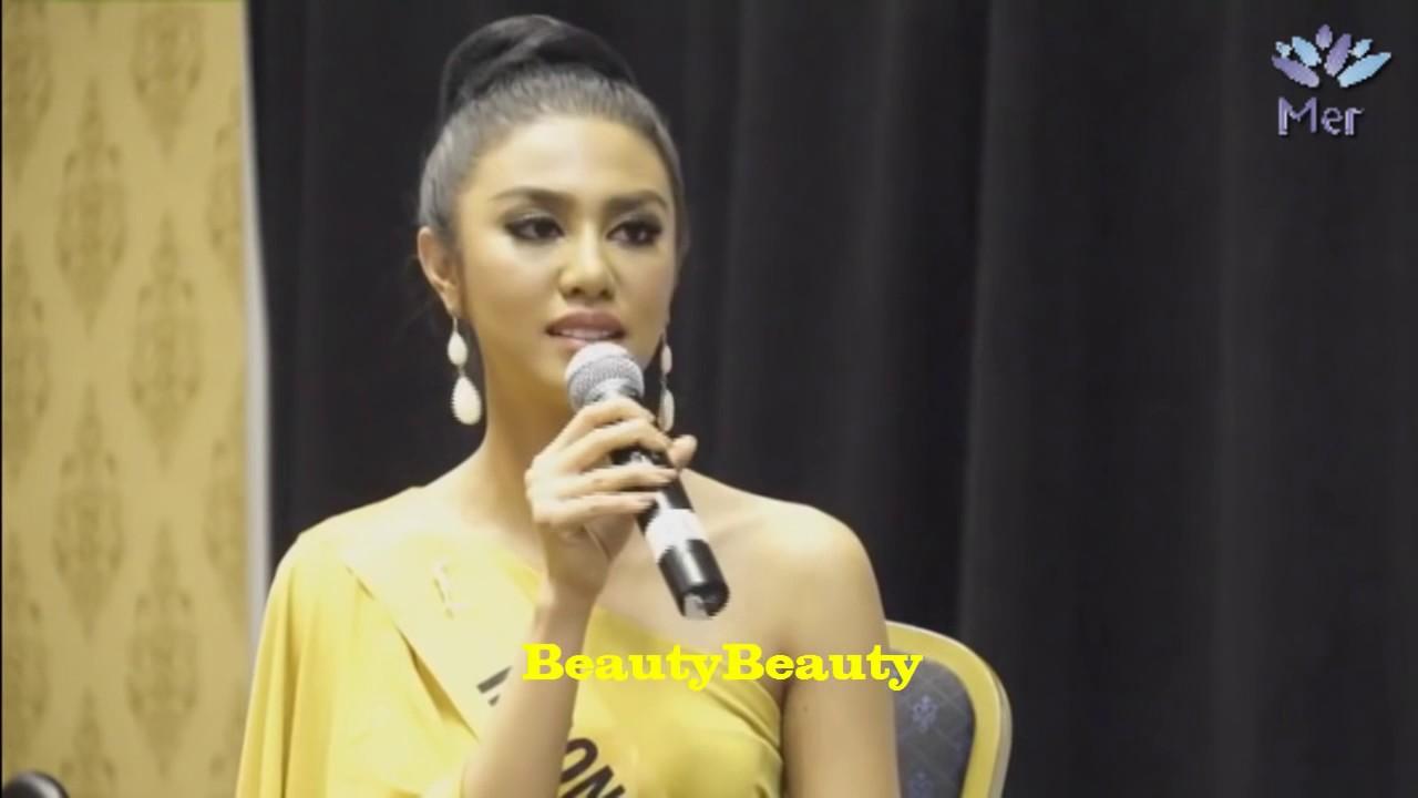 Download Miss Grand International 2016 INDONESIA Ariska Putri Pertiwi | Meet And Talk